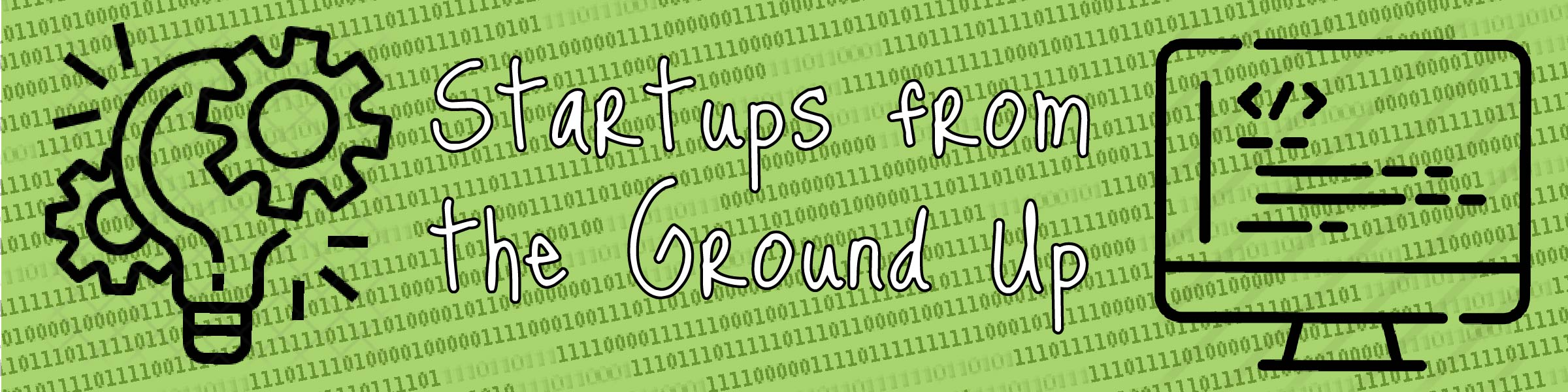 Startups from the ground up